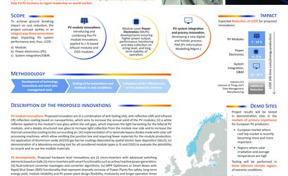 Project Poster - EU PVSEC 2018