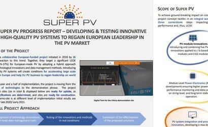 EU PVSEC 2020 SUPER PV PROGRESS REPORT POSTER